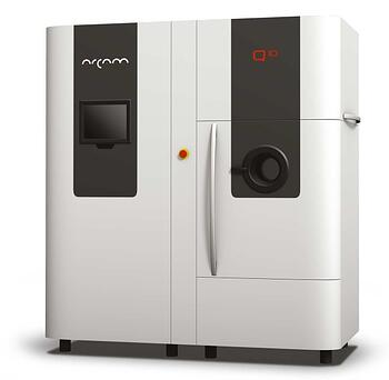 The Arcam Q10 - an industrial-sized 3D printer from Sweden designed for making orthopaedic implants